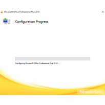 Cách sửa lỗi configuration progress Office 2010